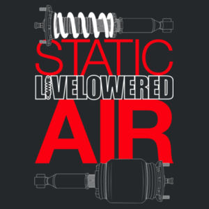 Static v Air in white/red Design
