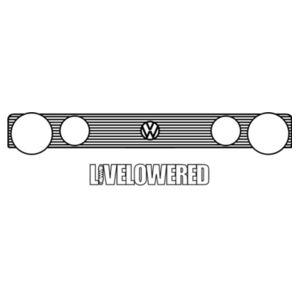 Golf Grille 4 in black Design