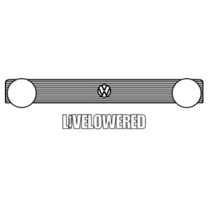 Golf Grille 2 in black Design