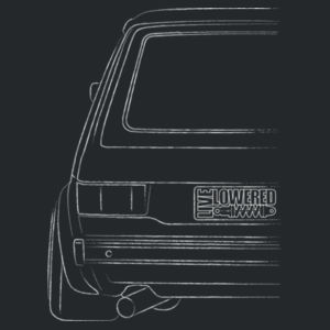 Mk1 Golf sketch in white Design