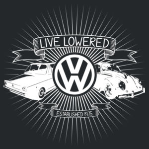 VW Crest in white Design