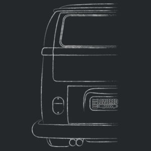 Camper sketch in white Design