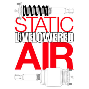 Static v Air in black/red Design