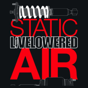 Static v Air in white and red Design
