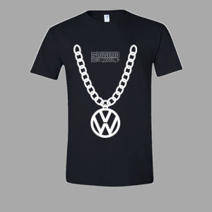 VW Badge Big Chain in white Thumbnail