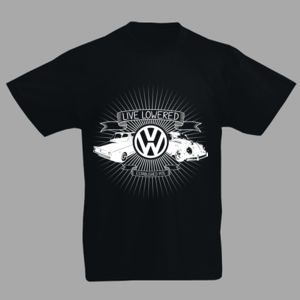 Golf & Beetle Crest in white Thumbnail